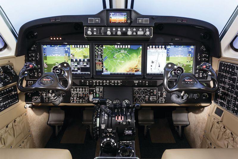King Air 350 Cockpit