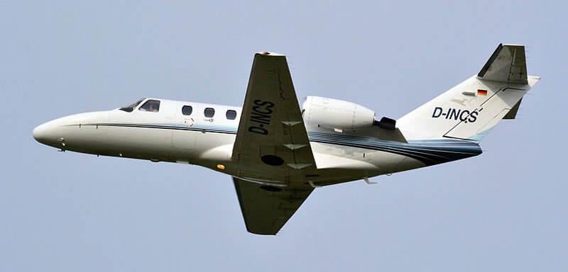 Cessna Citation inspection